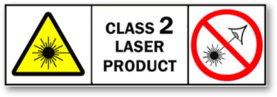 Safety of Class 2 visible-beam lasers