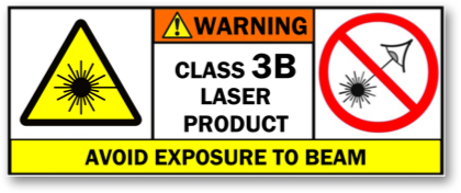 Safety of Class 3B visible-beam lasers
