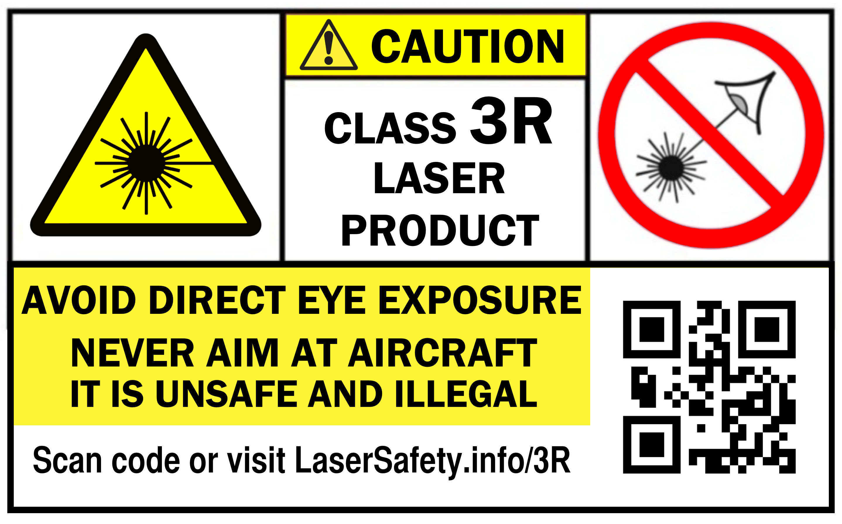 Class 3r Labels Laser Safety Facts